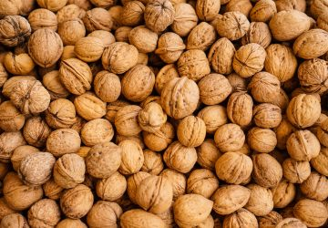 walnuts are a source of vegan protein