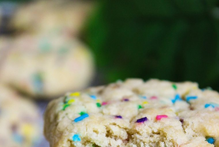 funfetti cookies by Wholesome Culture