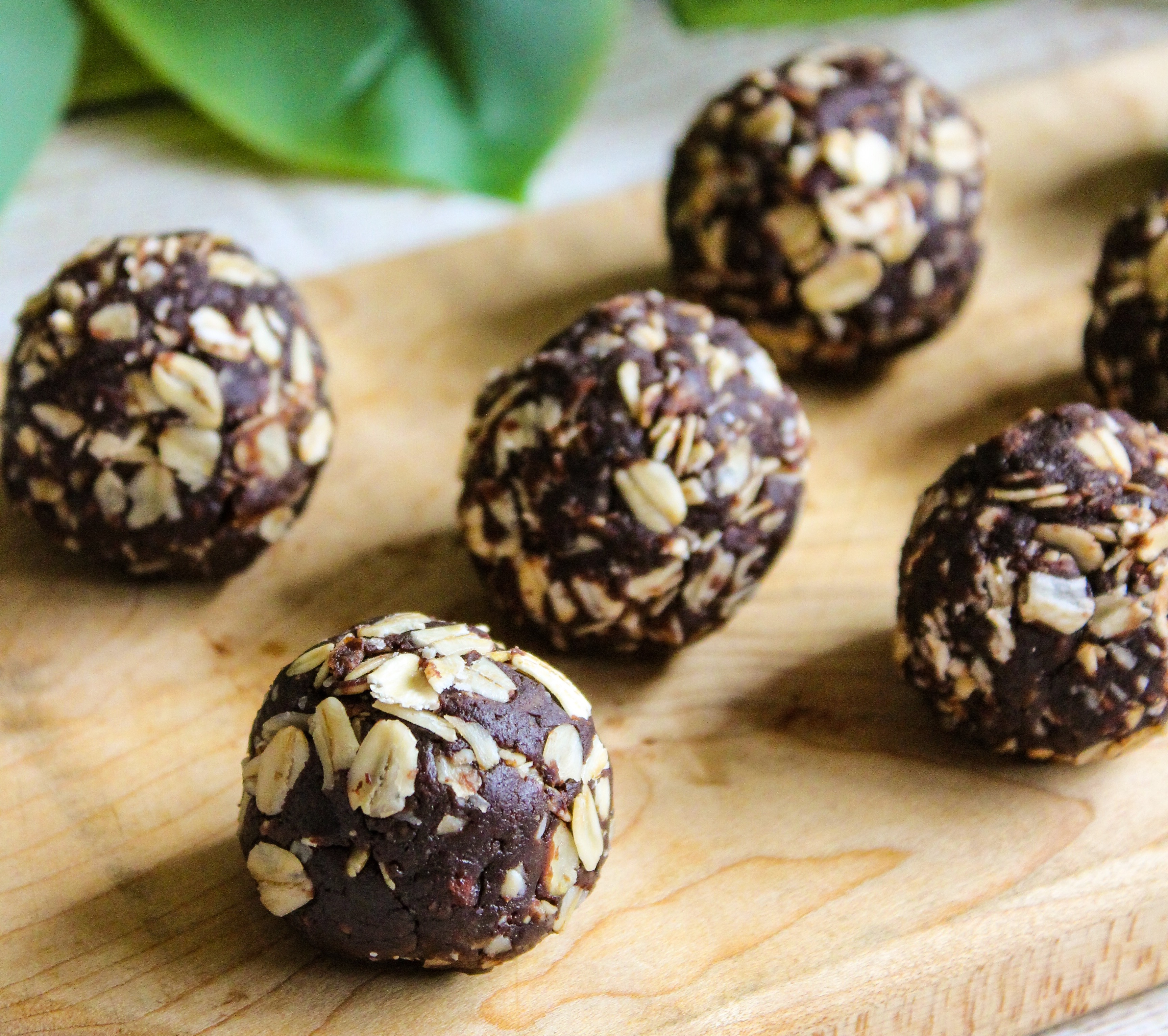 Chocolate Peanut Butter Energy Bites from the Wholesome Culture Cookbook