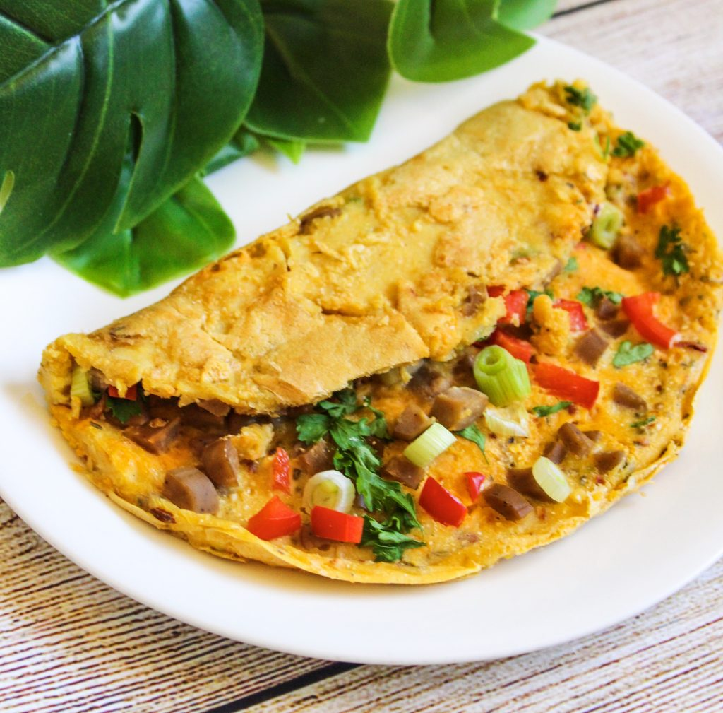 Chickpea Omelette from the Wholesome Culture Cookbook