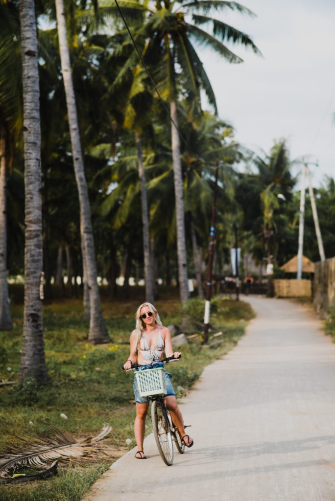 Gili T is one of the world's most bike-friendly cities