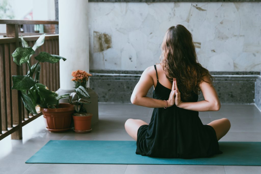 find positivity from practicing yoga