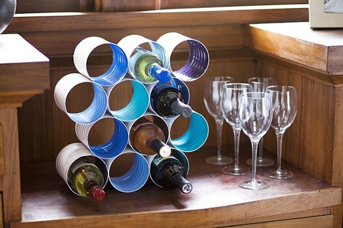 Wine rack storage