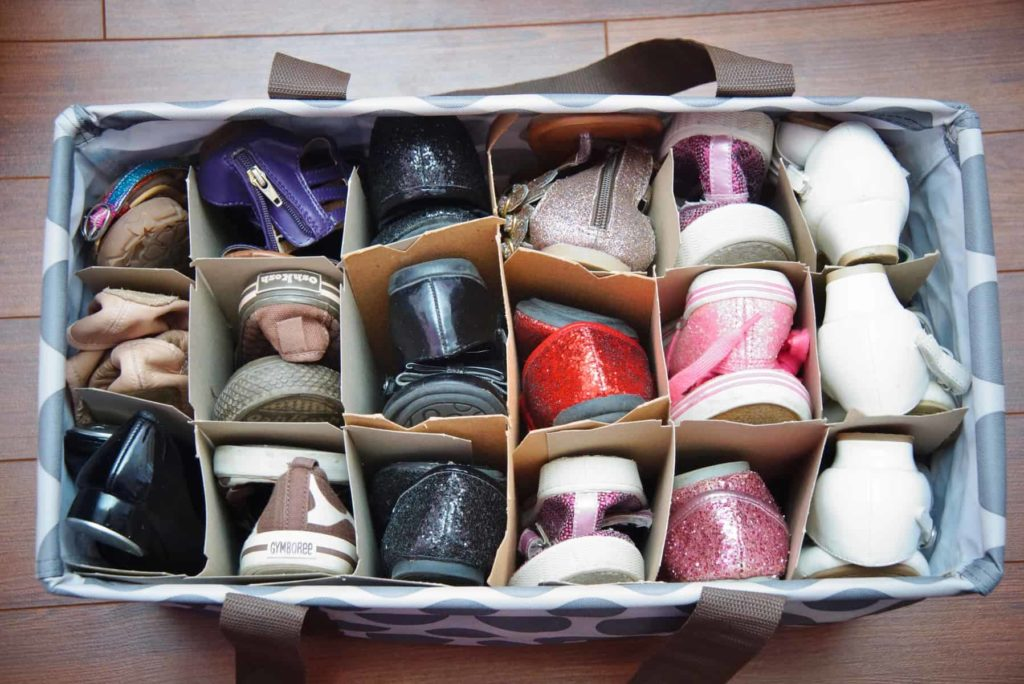 Wine storage for shoes