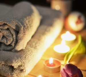 relaxing candlelit bath - perfect self-care idea